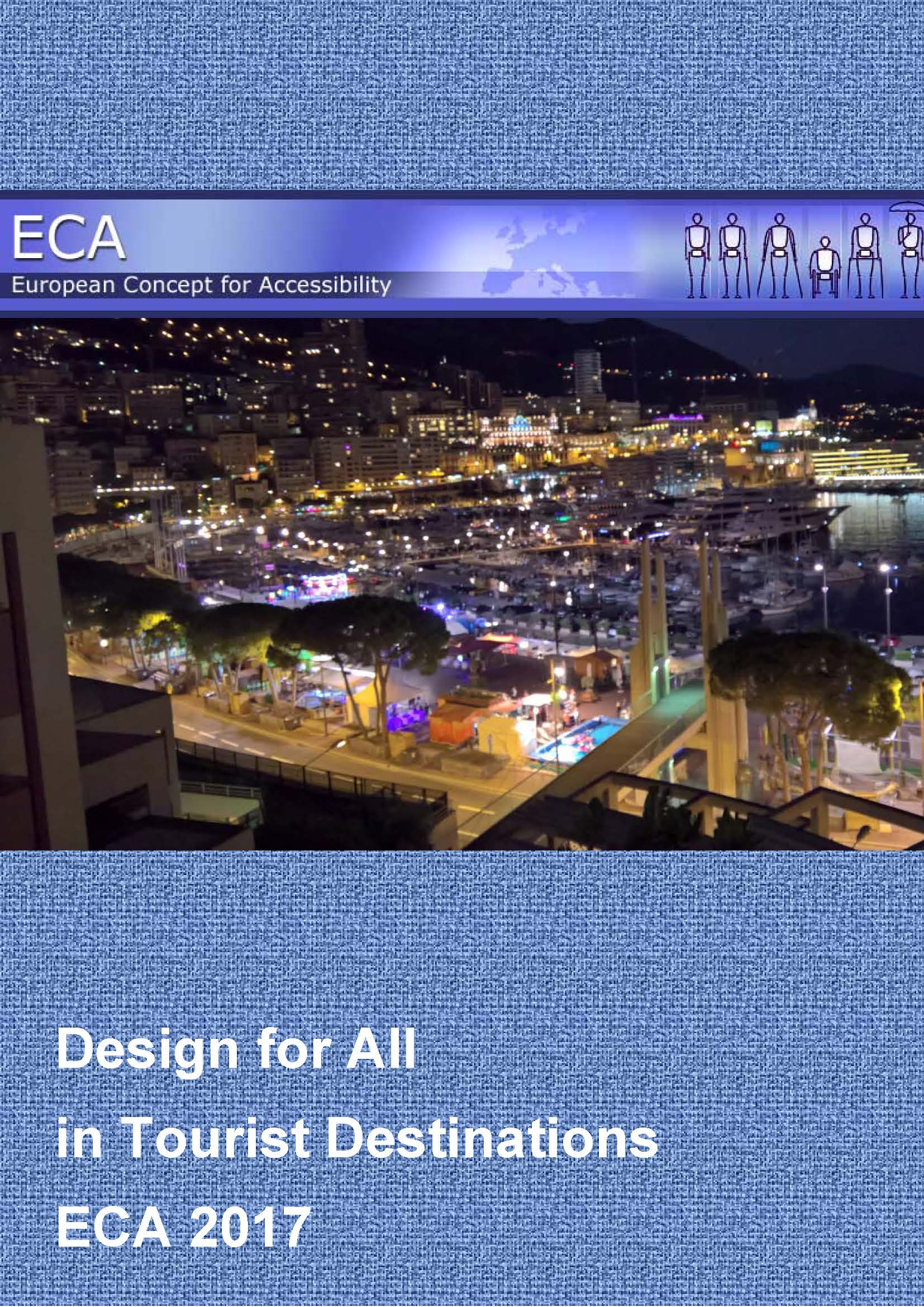 cover page of the publication Destinations for All ECA 2017